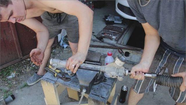 Рулевая рейка на Фольксваген Поло: замена