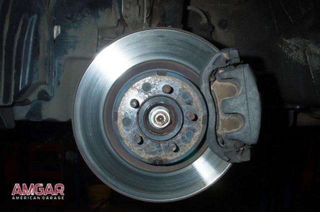 Тормозные диски на Субару Форестер: выбор и замена