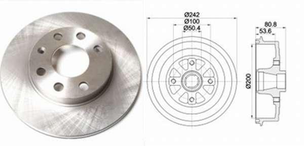 Тормозные диски на Шевроле Авео: выбор и замена