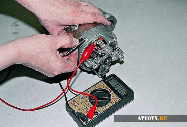 cтартер на ВАЗ 2106: где находится, как снять, замена