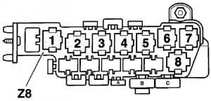 Датчик температуры Фольксваген Пассат b5: где находится, замена