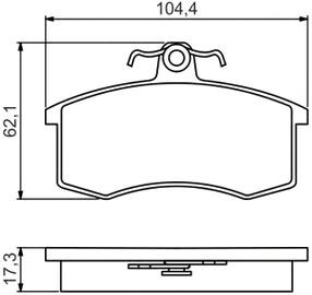 Тормозные колодки на Лада Гранта: замена передних и задних колодок