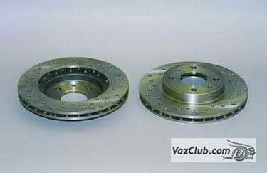 Тормозные диски на ВАЗ 2115: выбор и замена