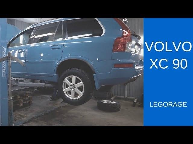 Тормозные диски Вольво xc90: выбор и замена