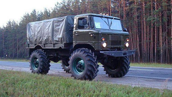 Тюнинг ГАЗ-66 своими руками салона, двигателя, оптики