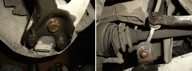 ШРУС наружный и внутренний на Тойота Королла 150: замена
