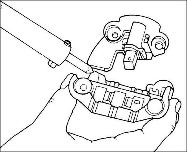 Генератор Киа Спектра: какой установлен, замена своими руками