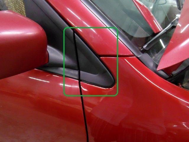Крыло переднее и заднее на Митсубиси Лансер 10: снять, установить