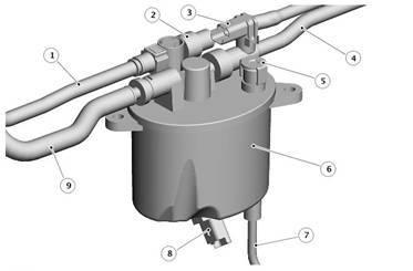 Топливный фильтр Лэнд Ровер Фрилендер 2: где находится, замена