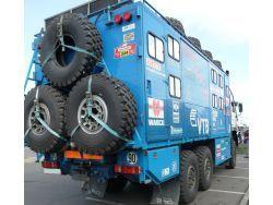 Тормозные колодки на КАМАЗ 6520: выбор и замена