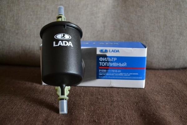 Топливный фильтр Лада Ларгус: где находится, замена