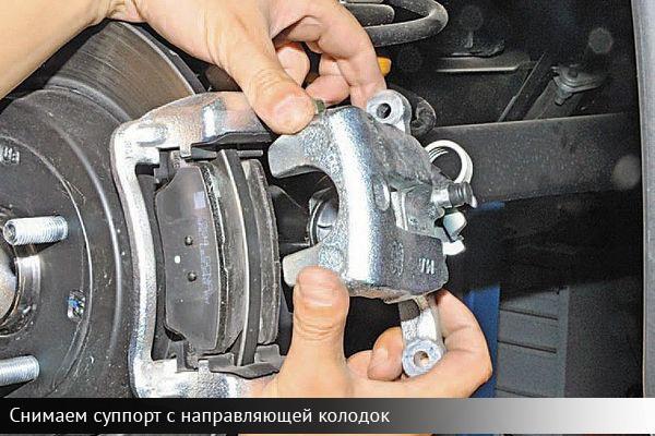 Замена передних и задних тормозных колодок своими руками