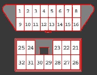 Расположение номера двигателя, вин номера и диагностического разъема на Лансере 10
