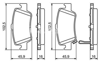 Диски на Тойота Королла 150: размер, замена суппортов и колодок