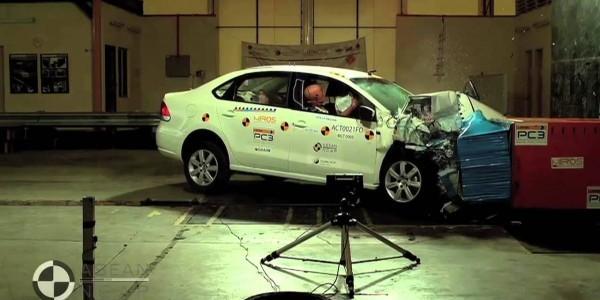 Безопасность Поло Фольксваген: подушки, ремень, краш тест