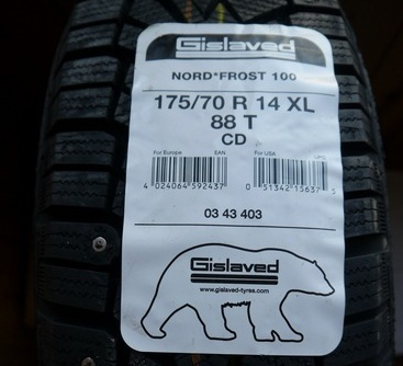 Шины gislaved nord frost 100:размеры, тесты, отзывы