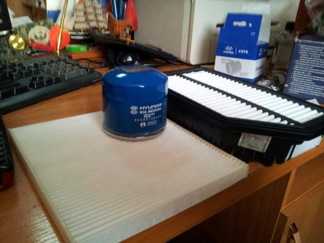 Масляный фильтр Хендай Солярис : как отличить подделку, замена