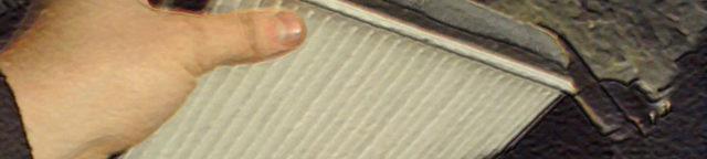 Салонный фильтр ВАЗ 2112: где находится, замена