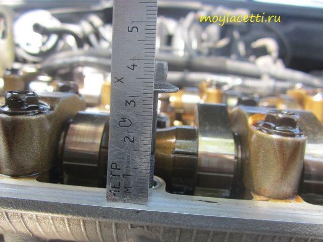 Клапанная крышка на Шевроле Круз: замена прокладки
