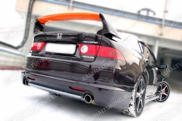 Спойлер на Хонда Аккорд 7: установка