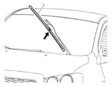 Щетки стеклоочистителя ВАЗ 2110 1996-2009 г.в: размеры и артикулы