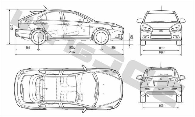 Багажник на mitsubishi lancer 10: размеры и как увеличить объем