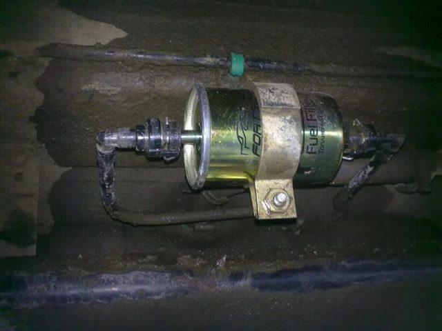 Топливный фильтр Лада Приора: где находится, замена