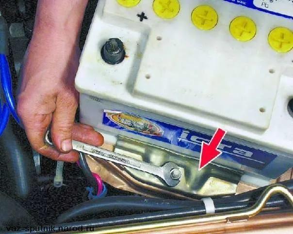 Аккумулятор ВАЗ 2110: выбор и замена, что делать если сел