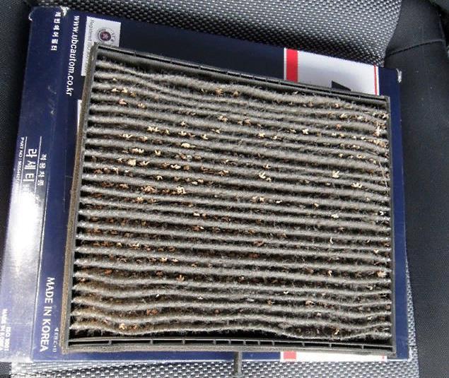Салонный фильтр на Шевроле Ланос: где находится, замена