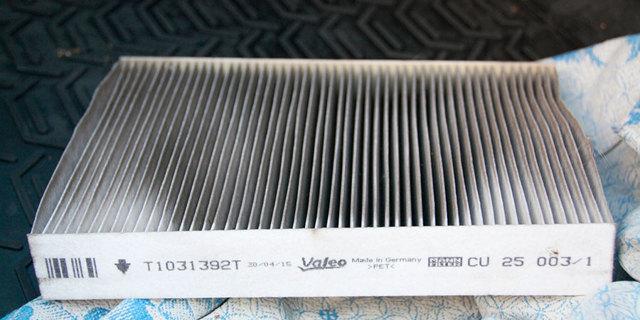 Воздушный фильтр на Ниссан Икс-Трейл Т31: где находится, замена