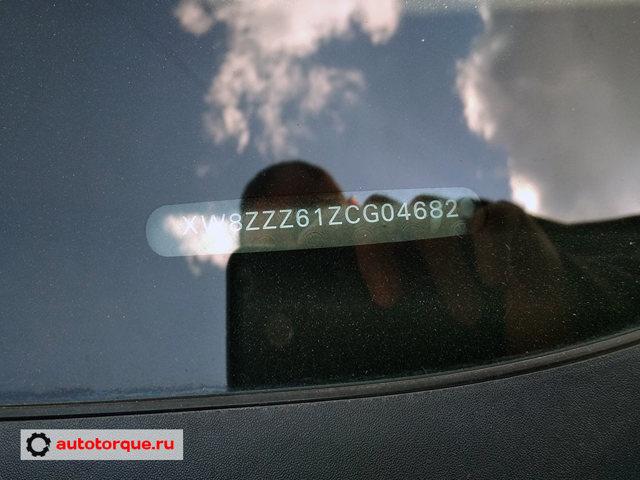 Номер двигателя, вин на Фольксваген Поло: где находятся