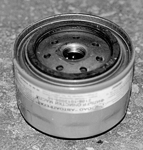 Масляный фильтр ВАЗ 2108: оригинал, как отличить подделку, замена