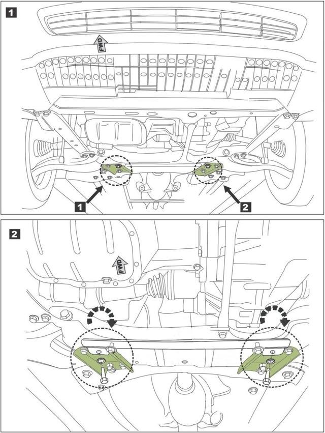 Стойки стабилизатора на Тойота Королла 120: замена втулок