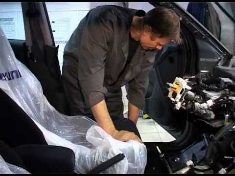 Шевроле Круз безопасность: как снять и заменить подушку безопасности