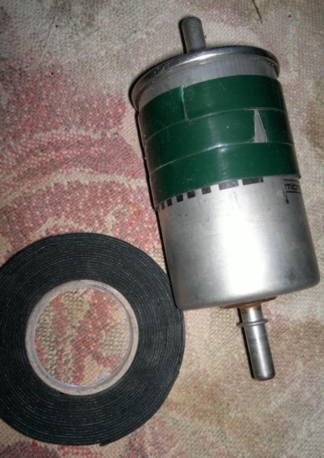 Топливный фильтр Рено Меган 2: где находится, замена
