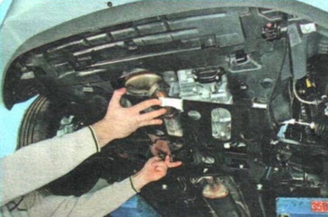 Датчик температуры Шевроле Авео Т300: где находятся, замена