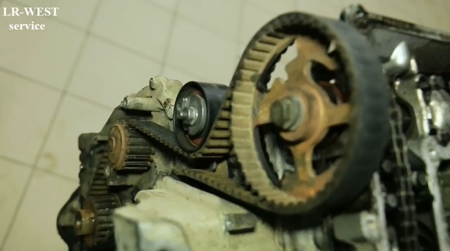 Ремень ГРМ Ленд Ровер Фрилендер 2: замена своими руками