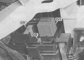 Предохранители Рено Меган 3: где находятся, замена
