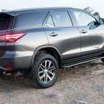 Комплектации Тойота Фортунер: технические характеристики