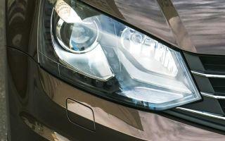 Лампы на Фольксваген Поло седан: замена ближнего и дальнего света