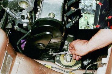 Ремень ГРМ на ВАЗ 2114: замена своими руками