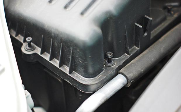 Фильтр воздушный Шевроле Авео: где находится, замена