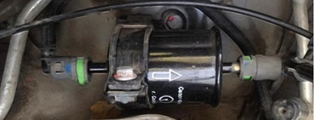 Топливный фильтр Рено Дастер: где находится, замена