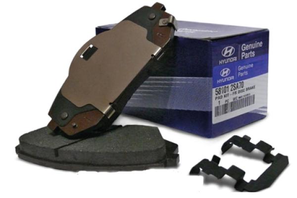 Тормозные колодки для kia sportage 3: выбор и замена