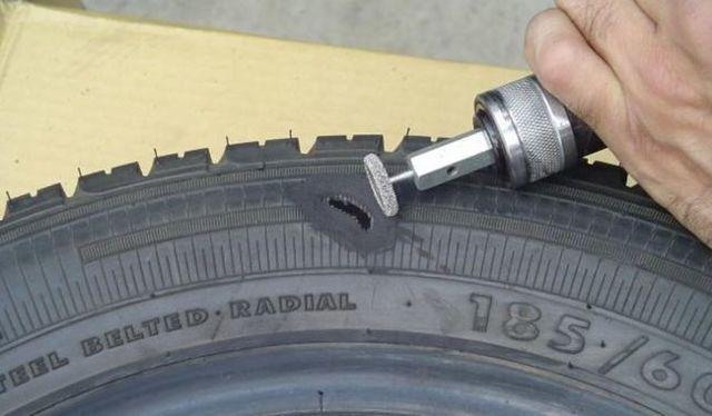 Ремонт боковых порезов шин: как заделать порез, чем заклеить