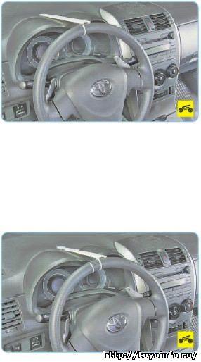 Рулевая рейка на Тойота Королла 120: замена