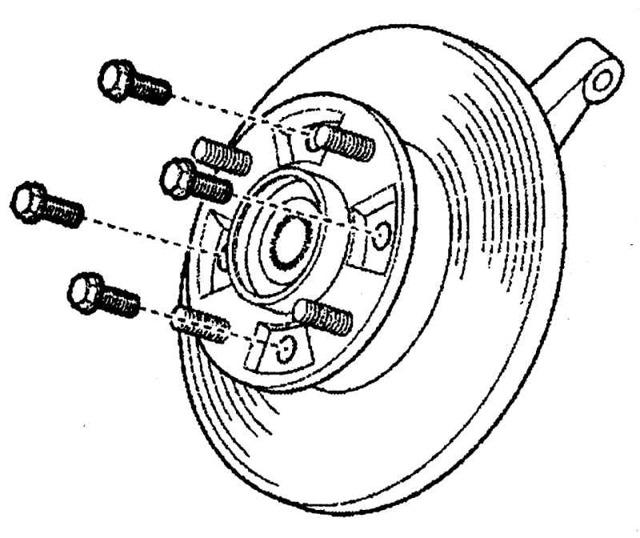 Тормозные диски на Дэу Матиз: выбор и замена