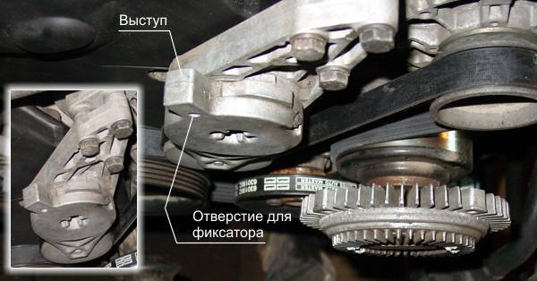 Приводной ремень, ролики на Фольксваген Поло: замена