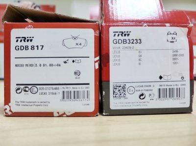 Тормозные колодки trw: как отличить подделку, отзывы