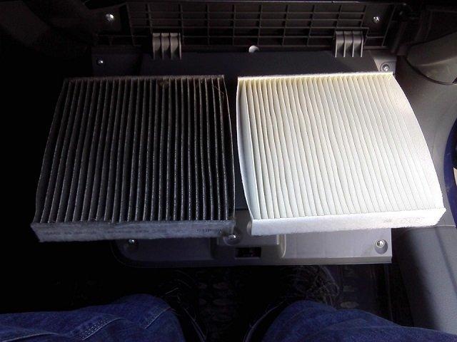 Салонный фильтр Сузуки sx4: где находится, замена